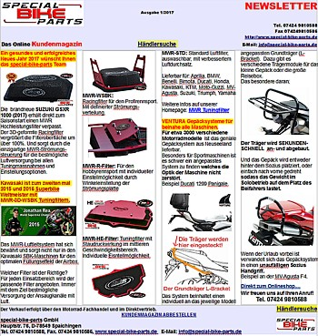 Newsletter special-bike-parts 2/2015